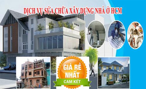 Chuyên nhận dịch vụ sửa chữa nhà trọn gói giá rẻ
