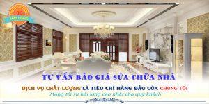 Chuyên nhận dịch vụ sửa chữa nhà quận Bình Thạnh uy tín