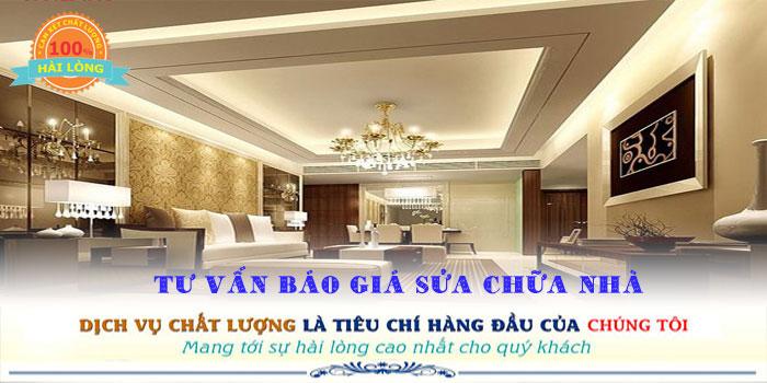 Chuyên nhận dịch vụ sửa chữa nhà quận Tân Phú đẹp