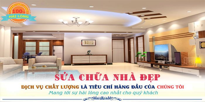Chuyên nhận dịch vụ sửa chữa nhà quận Tân Phú đẹp uy tín
