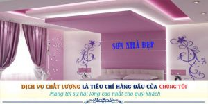 Dịch vụ thợ sơn nhà uy tín tại Bình Thạnh uy tín