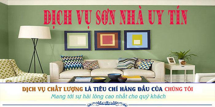 Dịch vụ thợ sơn nhà uy tín tại Phú Nhuận chuyên nghiệp