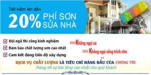 Dịch vụ thợ sơn nhà uy tín tại quận 3 uy tín