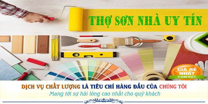 Dịch vụ thợ sơn nhà uy tín tại quận 6 chuyên nghiệp