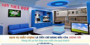 Dịch vụ thợ sơn nhà uy tín tại Tân Phú đẹp