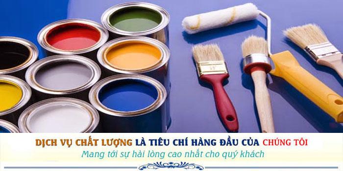 Dịch vụ thợ sơn nhà uy tín tại Tân Phú giá rẻ