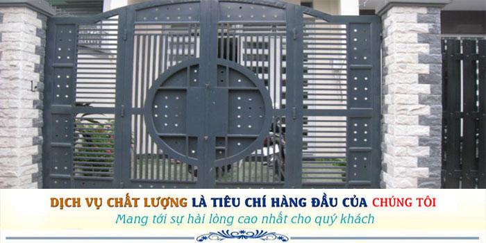 Sửa chữa cửa sắt tại nhà giá rẻ