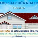 Dịch vụ sửa chữa nhà tại Dĩ An uy tín giá rẻ