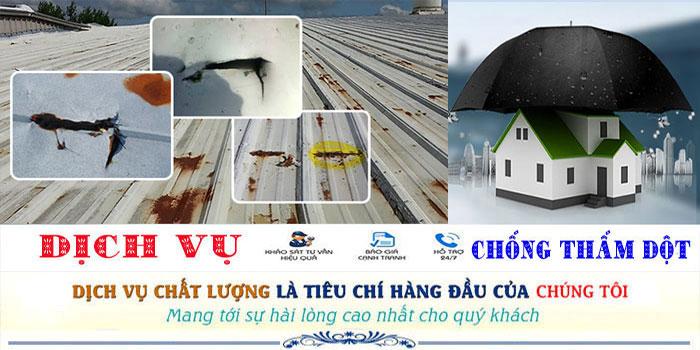 Thợ chống dột mái tôn tại TPHCM uy tín