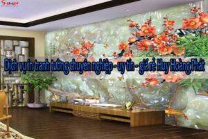 Dịch vụ in tranh tường chuyên nghiệp - uy tín - giá rẻ Huy Hoàng Phát