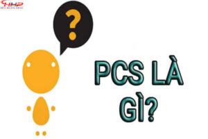 PCS là gì? Trong các lĩnh vực khác nhau PCS có ý nghĩa gì?